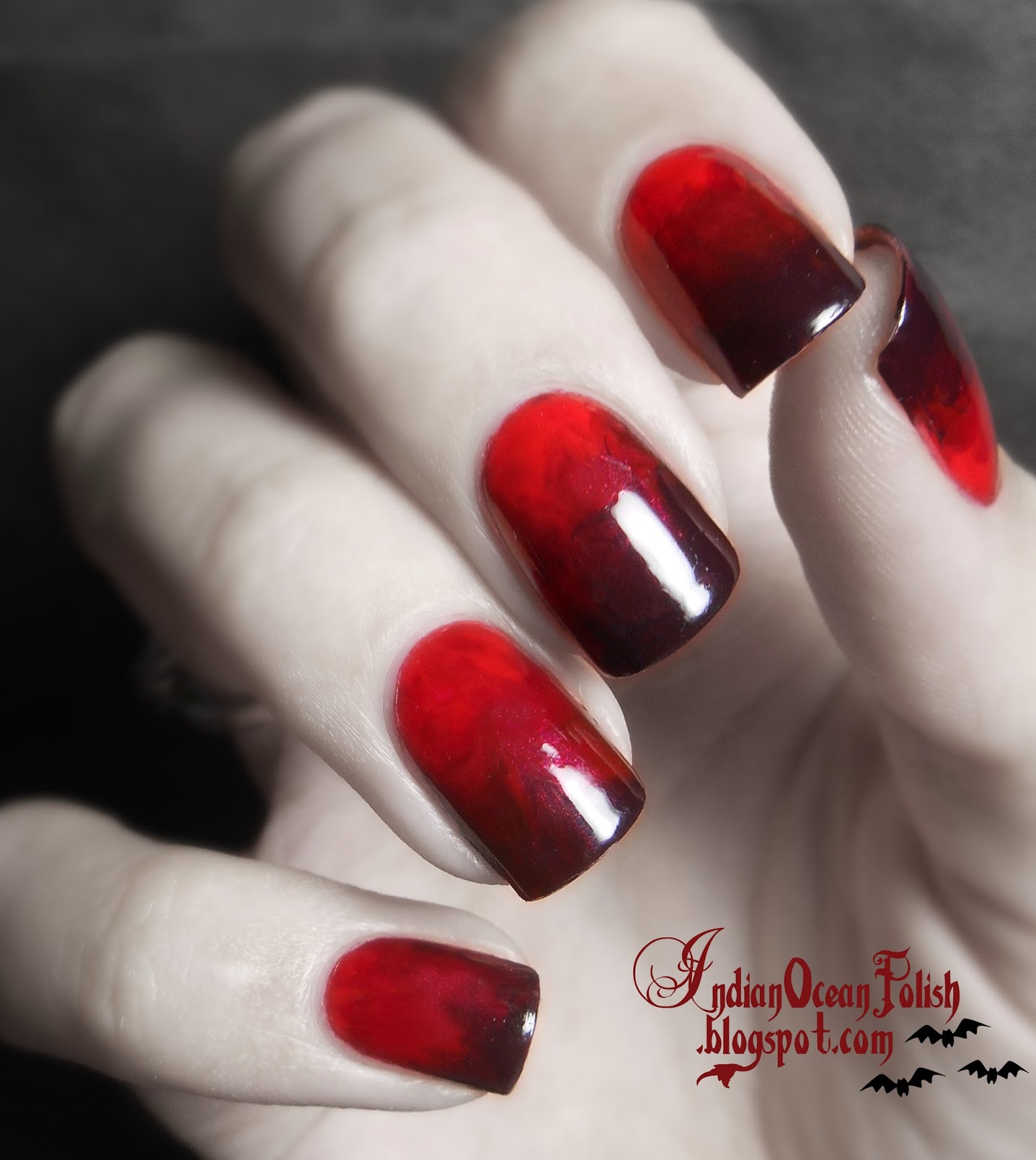 Indian Ocean Polish: A Few Halloween Nail Art Ideas for 2013