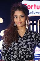 Ritika Singh in Black Printed Shirt and White Leggings at IIFA Utsavam Awards press meet 27th March 2017 12.JPG