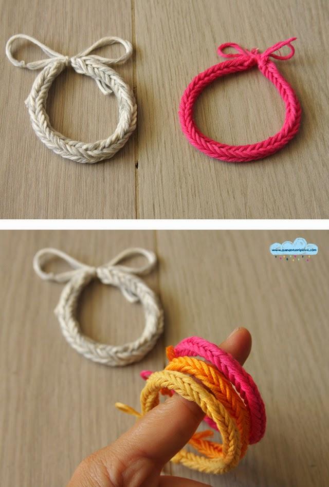 Top Quandofuoripiove: il braccialetto (di cotone) col telaietto degli  QS89