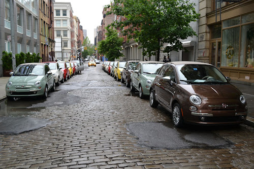 Fiat 500C in New York