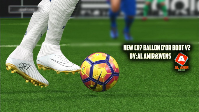 PES 2017 CR7 Ballon d'Or Boot Update 2 by Al AMiR and WENS