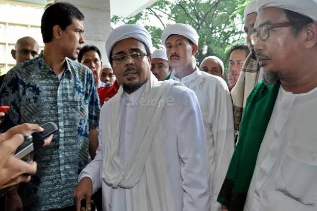 Habib Rizieq Shihab resmi menjadi tersangka