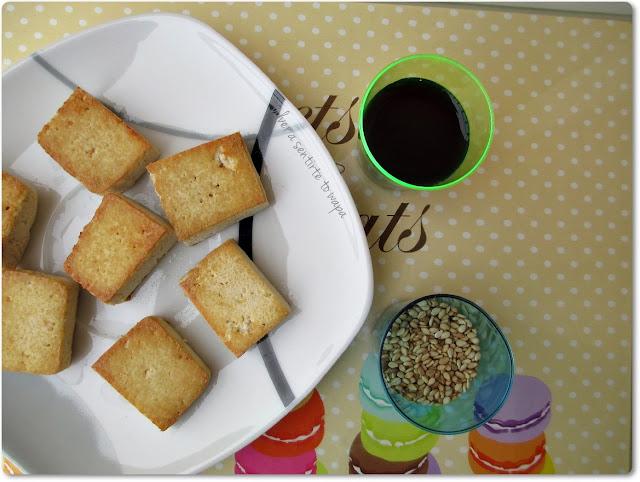 Receta: Tofu a la plancha con salsa de soja y semillas de sésamo