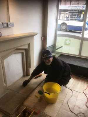 Tile Doctor Restoration and Tiling Course - Fireplace Cleaning