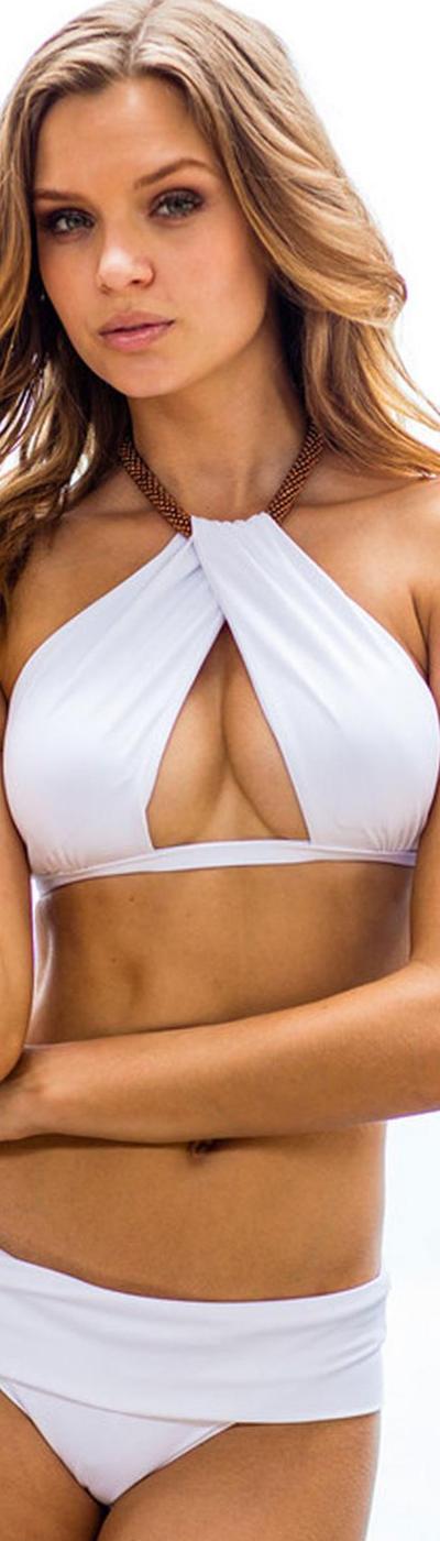 Sauvage Venezia Twist Bikini White