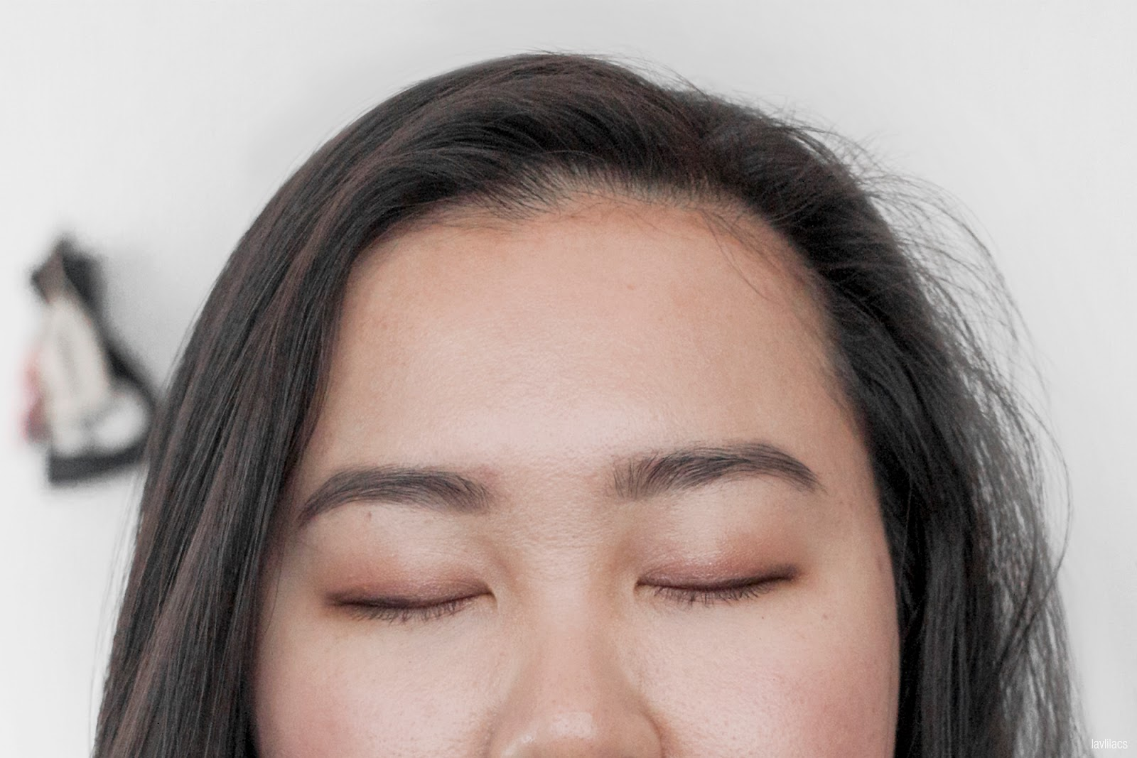 lavlilacs 2018 PMAD daily makeup look, dusty rose eyes
