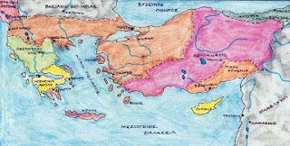Η ανάκτηση της Πόλης από τον Μιχαήλ Η΄, τον Παλαιολόγο - Το Βυζάντιο παρακμάζει και υποκύπτει σε κατακτητές  - από το «https://e-tutor.blogspot.gr»