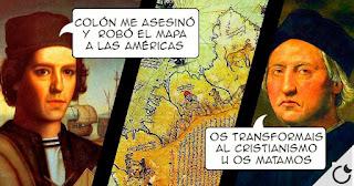 La oscura historia del asesino Colón y la farsa del descubrimiento de América