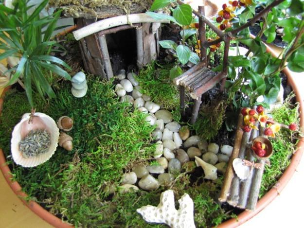Gnome Garden: How To Recycle: Miniature Fairy Garden Designs