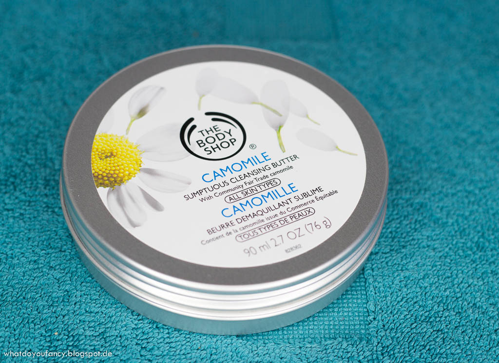 [Review] The Body Shop Camomile Sumptuous Cleansing Butter