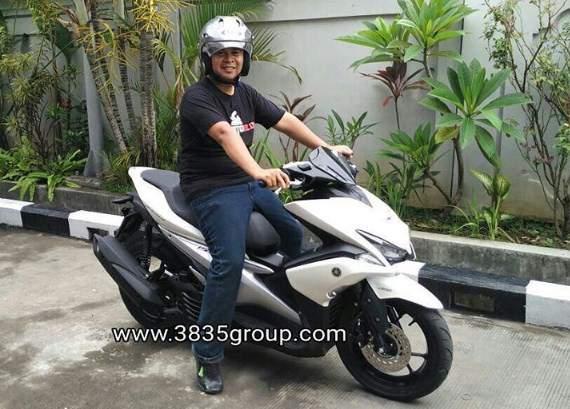 Yamaha-AEROX155vva-Denpasar-Bali