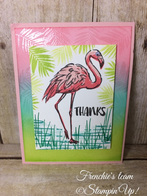 Fabulous Flamingo , Stampin'Up!
