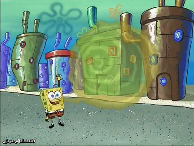 SpongeBob Season 2 Episode 2A - Something Smell SD 480p Dub Indo