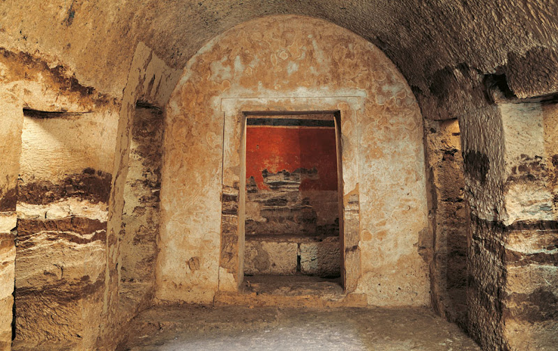 Unique Macedonian tomb in ancient Pella opens to public
