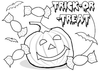 Happy-Halloween-Clipart-Black & White-Online-Free