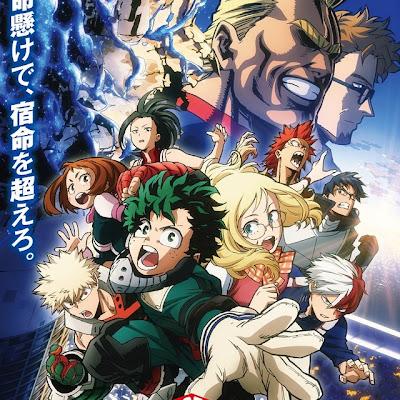 Película de My Hero Academia alcanza el cuarto puesto en los cines japoneses