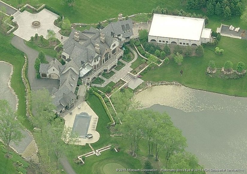 Billionaires the inside source most expensive home for for Most expensive house in illinois