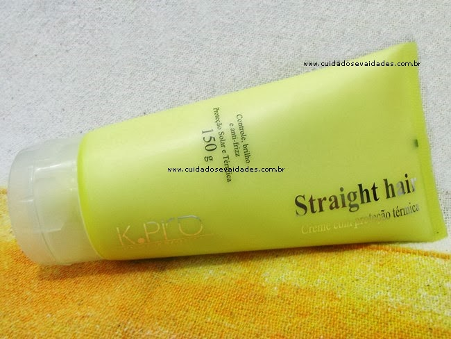 Straight Hair protetor térmico K-Pro