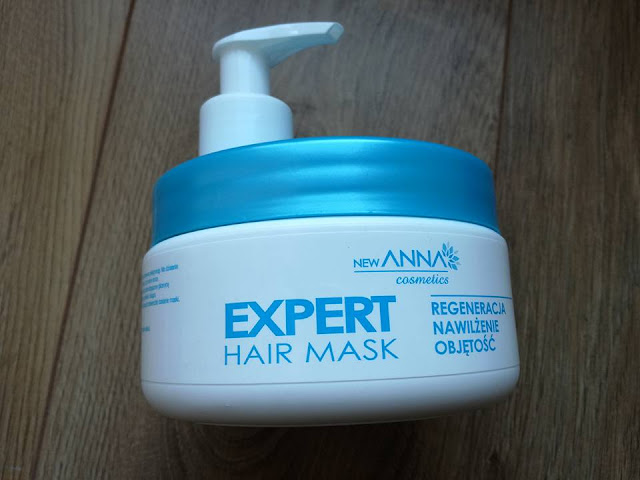Maska do włosów HAIR EXPERT MASK NEW ANNA COSMETICS