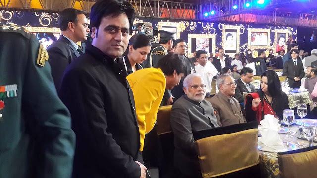 Sanjeev Juneja with Narendra Modi