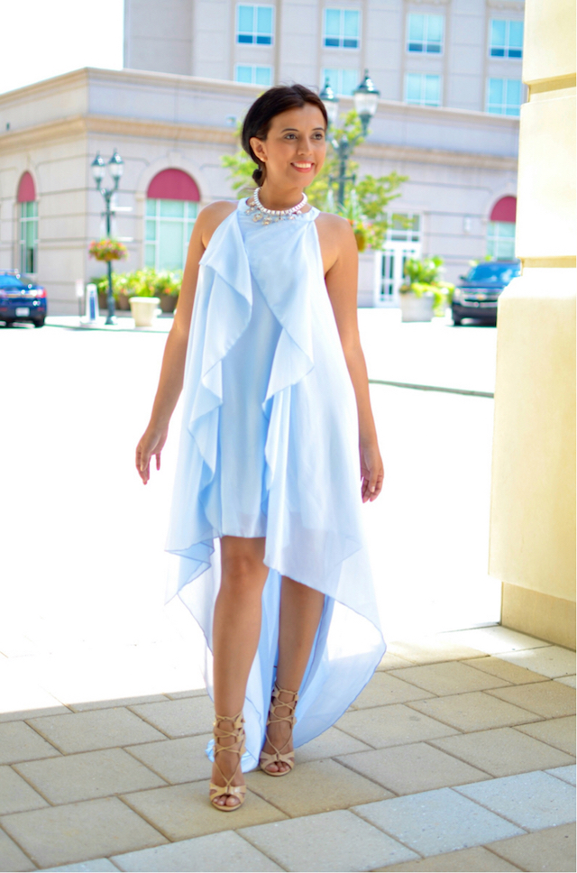 mariestilo- baby blue dress