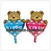 Balon Foil Bear It's A Boy Mini & Foil Bear It's A Girl Mini (2 in 1)