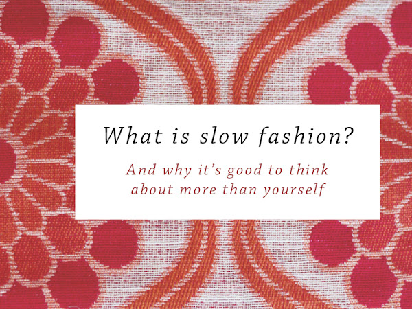 Aware: Slow fashion?