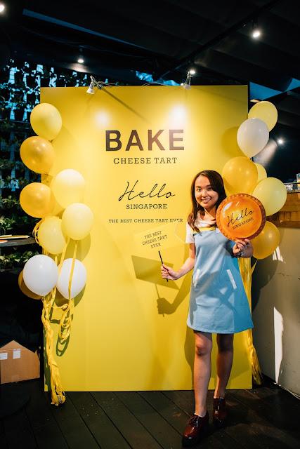 Littletinysun Bake Cheese Tart blog review