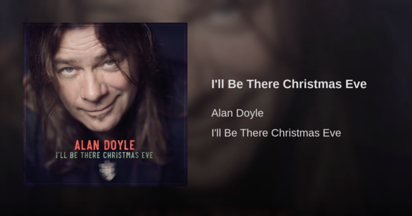 Fandom An Unexpected Journey: Alan Doyle And 'I'll Be There Christmas Eve'... A new song (47/365)