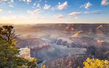 Wallpaper: Spectacular view of Grand Canyon