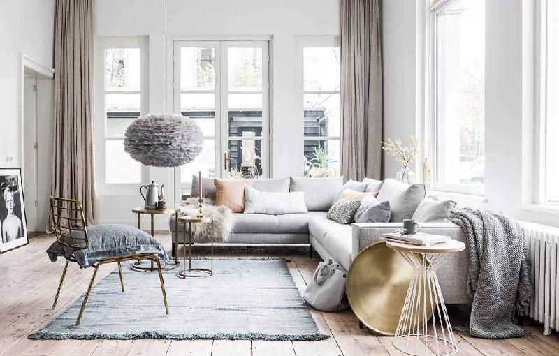 tappeto per la zona divani