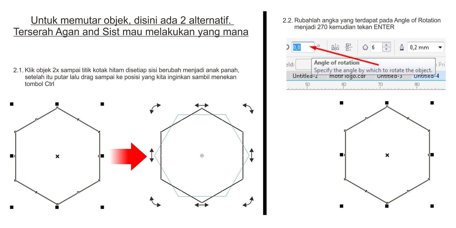 Cara Membuat Texture Dengan Corel Draw