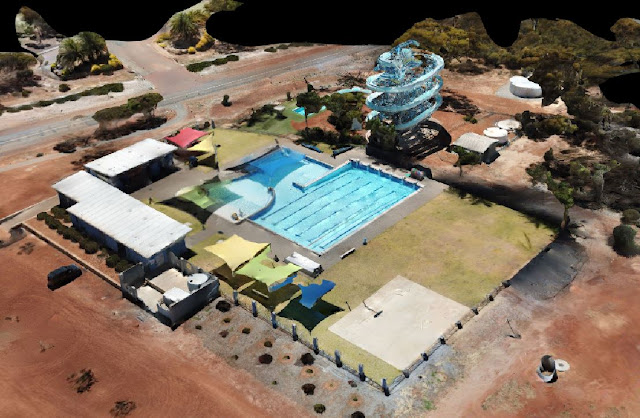 Kulin Water Slide Drone Site Scan with Drone Deploy - Image 1