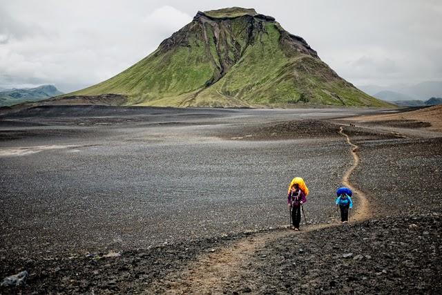 Trail En Islande