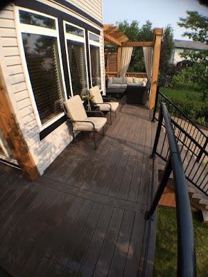 deck railing calgary