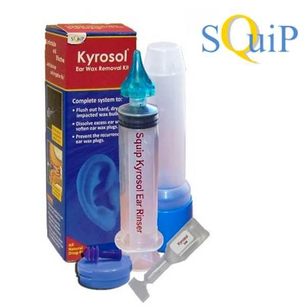 Squip Kyrosol Ear Wax Removal System