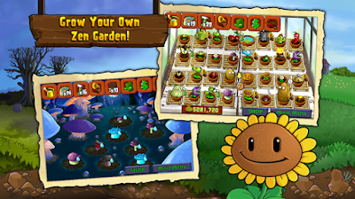 Download Plants vs Zombies 6.1.11 Unlocked all Mod Apk 2017