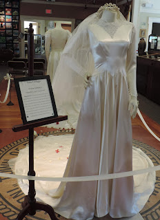Bridal Gown Exhibit opens today