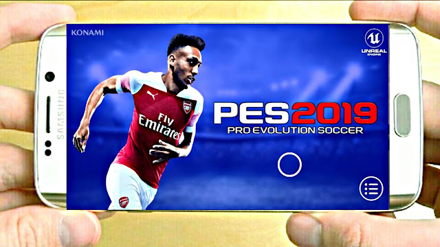 PES 2019 Mobile Android Graphics Patch 400 MB Compressed (Android/IOS)