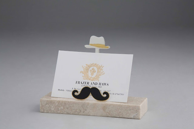 Frazer and Haws - Visiting Card Holder Mustachios Rs 3200