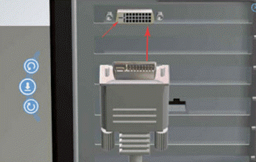 cara memasang kabel monitor ke CPU
