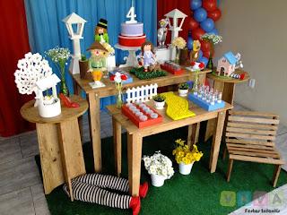 Decoração festa infantil O Mágico de Oz