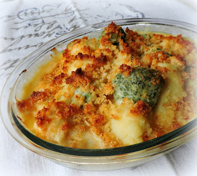 Broccoli & Cauliflower Cheese