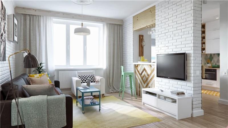 Mieszkanie w skandynawskim stylu z pastelowymi dodatkami, wystrój wnętrz, wnętrza, urządzanie domu, dekoracje wnętrz, aranżacja wnętrz, inspiracje wnętrz,interior design , dom i wnętrze, aranżacja mieszkania, modne wnętrza, styl skandynawski, scandinavian style, pastelowe kolory, małe wnętrza, kawalerka, salon