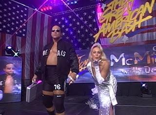 WCW Great American Bash 1997 - Debra & Steve 'Mongo' McMichael