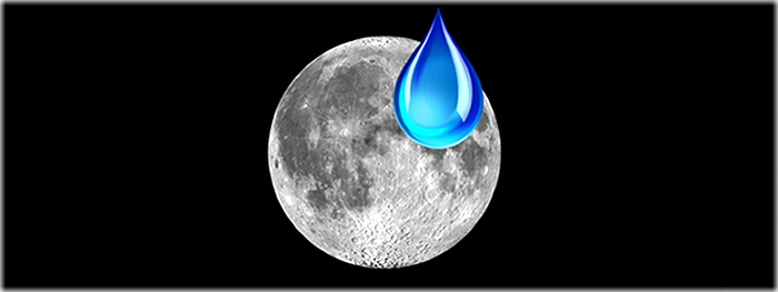 interior da Lua pode conter grandes quantidades de água