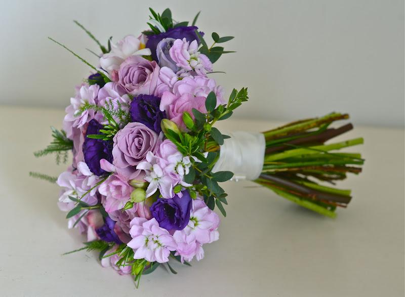 Rustic Purple Wedding Flower Bouquets | Gardening: Flower and Vegetables
