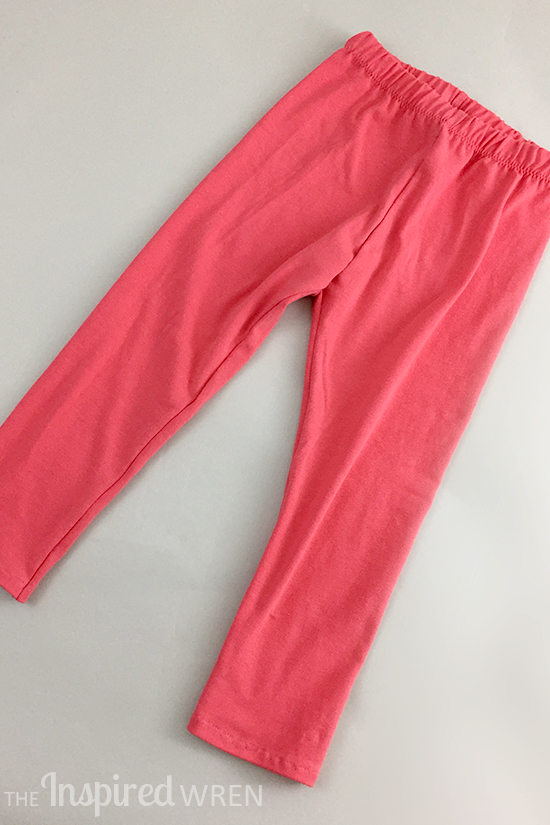 Go To Leggings in coral | The Inspired Wren