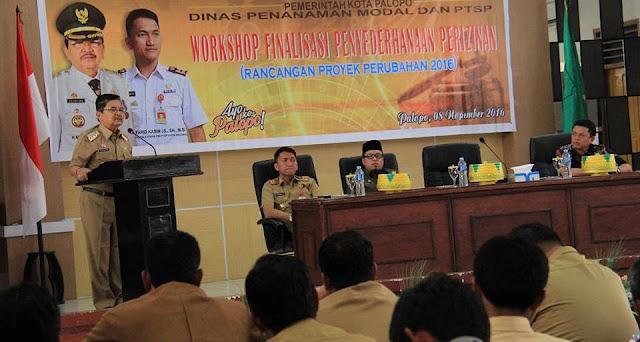 Buka Workshop Perizinan, Wali Kota Palopo Minta SKPD Lain Pikirkan Program Inovatif