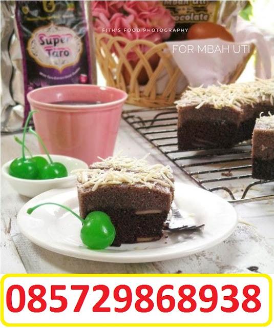 Kreasi Coklat Aren Mbah Uti Brownies Camu Lapis Dengan Super Taro